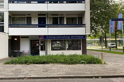 Computershop Arnhem vanaf de Ijssellaan