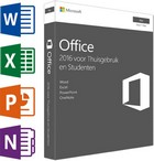 MS office 2016 Home & Student  (1 licentie) MAC