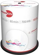 CD-R Primeon 100 stuks op spindel printable