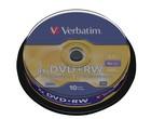 DVD+RW Verbatim 4,7GB 10 st.