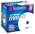 DVD-R Verbatim Printable 10 stuks (16 speed) (8273453239)