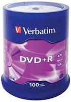DVD+R Verbatim 100 stuks op spindel