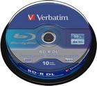 BD-R Verbatim 50GB spindel 10 stuks