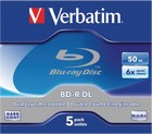 BD-R Verbatim 50GB 5 stuks