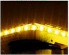 LED strip geel 30 cm