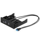 USB3.0 hub 2 poort intern