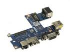 Dell E5540 USB + sound + RJ45 + VGA board