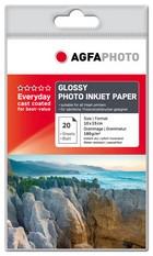 AgfaPhoto papier 10x15 180gr. 20 vel