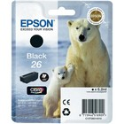 Cartridge Epson T2601 zwart