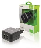 USB lader (2x) 4.8A Sweex