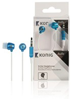 Headphone Wired in-ear blue