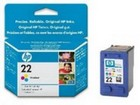 Cartridge HP 22 (C9352A) 5ml