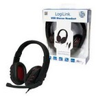 Headset Wired Logilink Gaming USB