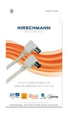 Coax kabel RTV 3,0 meter Hirschmann