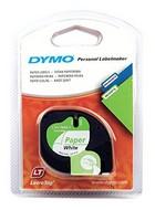 Dymo Letratag 12mm 4m paper white