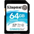 SD kaart 64GB CL10  Kingston CSG