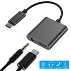 USB C->Jack + charge