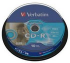 CD-R Verbatim 700MB / 80 min 10 stuks op spindel
