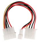 Power verloop molex -> 3 pin cooler