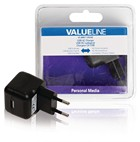 USB lader (1x) 2.1A Valueline
