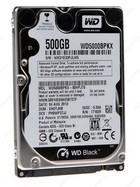 Harddisk 2,5'' S-ATA 500GB /  7200 rpm / WD